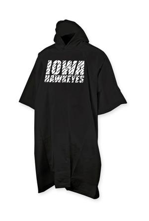 Poncho Black Iowa