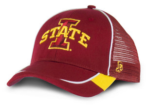 Iowa State Cardinal and Gold Mesh Cap - Landry
