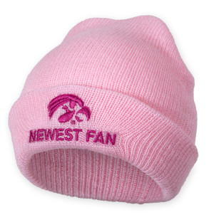 Iowa Hawkeyes Pink Infant Beanie - Ashton