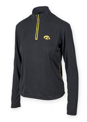 Iowa Hawkeyes Black & Gold Performance Shirt - Brooks