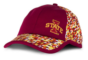 Iowa State Cardinal & Gold Cap - Inferno
