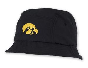 Iowa Hawkeyes Black Bucket Hat - Anthony