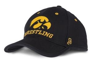 Iowa Hawkeyes Men's Black & Gold Wrestling Cap - Austin