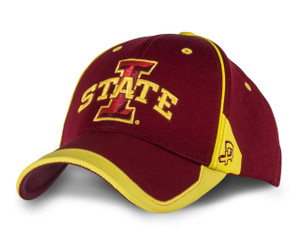 Iowa State Cardinal and Gold Logo Hat - Jude