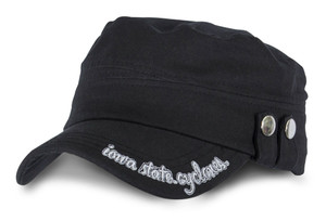 Iowa State Heavy Washed Cotton Military Cap - Serenity