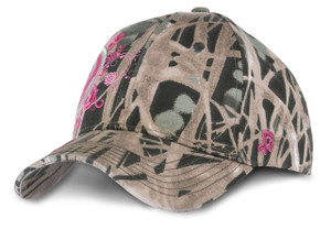 Iowa State Camo and Pink Cap - Ava
