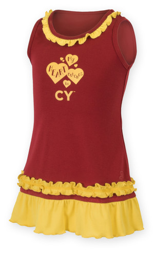 Iowa State Cardinal & Gold Sundress
