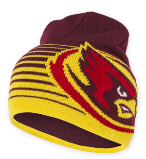 Iowa State Cyclones Cardinal & Gold Beanie - Kevin