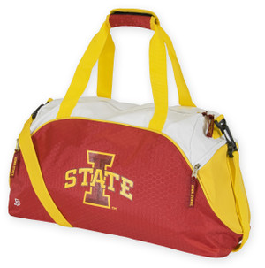 Iowa State Cyclones Cardinal & Gold Duffel Bag - Impact