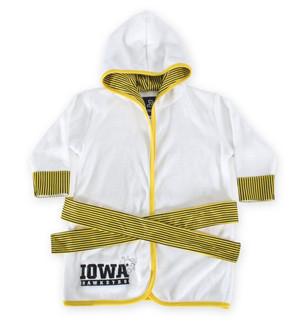 Iowa Hawkeyes Gold Infant Robe - Piper