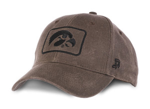 Iowa Hawkeyes Men's Waxed Canvas Hat - Caster