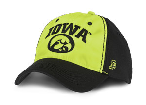 Iowa Hawkeyes Black & Yellow Cap - Blaze