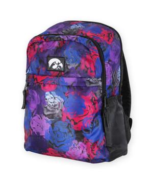 Iowa Hawkeyes Floral Backpack - Angel