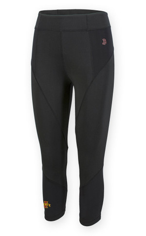 Black Iowa State Cyclones Leggings - Ciara