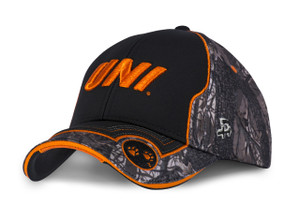 UNI Panthers Camo and Orange Men's Hat - Roger