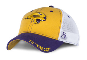 UNI Panthers Purple & Gold Stretch Fit Youth Cap - Ryan