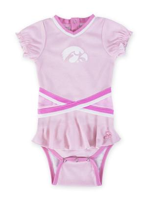 Iowa Hawkeyes Pink Baby Onesie - Penelope
