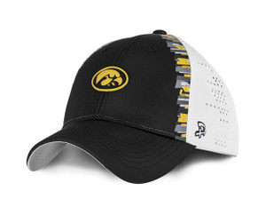 Iowa Hawkeyes Black and Gold Youth Hat - Cohen