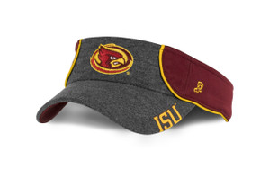 Iowa State Women's Cardinal and Gold Visor - Selena