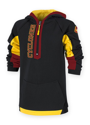 Iowa State Cardinal and Gold Youth Hoodie - Charlie