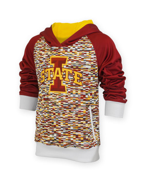 Iowa State Cardinal and Gold Youth Hoodie - Skylar