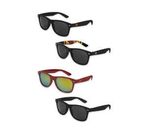 Iowa State Cardinal & Black Plastic Sunglasses