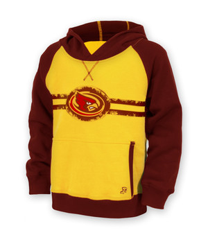 Iowa State Cardinal & Gold Fleece Hoodie - Lane