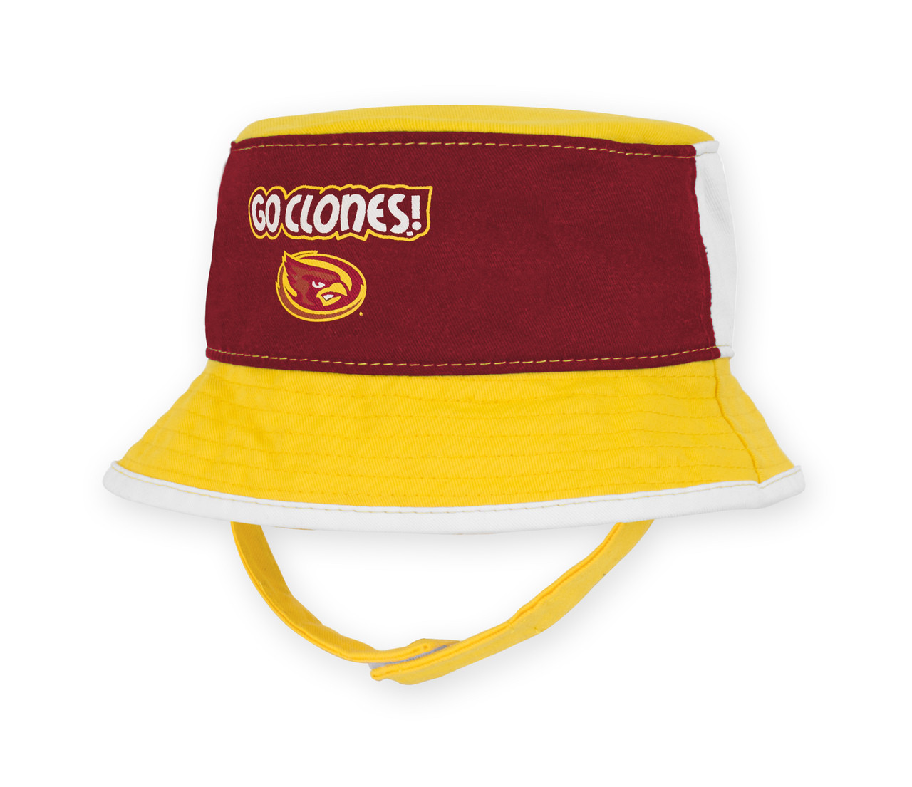 893b427fa2fd5 ... authentic iowa state infant bucket hat cardinal gold white authentic  brand 78abf 26adc ...