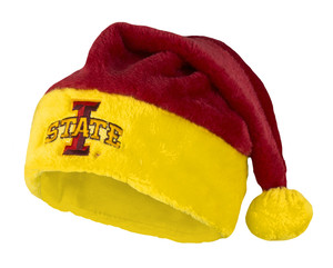 ISU Red & Gold Santa Hat