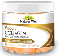 Beauty Collagen Mature Skin 40 Gummies x 3 Pack Nature's Way
