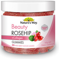 Beauty Rosehip + Collagen 40 Gummies x 3 Pack Nature's Way