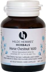 Horse Chestnut 1600mg 60 Capsules Hilde Hemmes Herbals