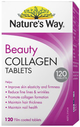 Beauty Collagen 120 Tabs x 3 Pack Nature's Way