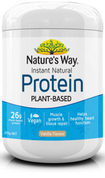 Instant Natural Protein Powder Vanilla 375g  x 2 Pack Nature's Way