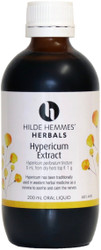 Hypericum (St. Johns Wort) Herbal Extract 200mL Hilde Hemmes Herbals