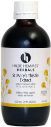 St. Marys Thistle - Alcohol Free Herbal Extract 200mL Hilde Hemmes Herbals