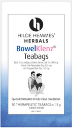BowelKlenz 30 Tea Bags Hilde Hemmes Herbals