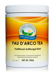 Pau D'arco Tea 200gm Nature's Sunshine