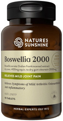 Boswellia 2000 90 Tablets Nature's Sunshine