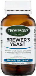 Brewers Yeast 500mg 100 Tablets Thompsons