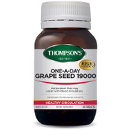 Grape Seed 19000mg One-a-Day 60 Tablets Thompsons