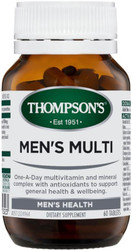 Men's MultiVitamin with Antioxidants 60 Tablets Thompsons