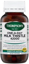 Milk Thistle 42000mg One-A-Day 60 Capsules Thompsons