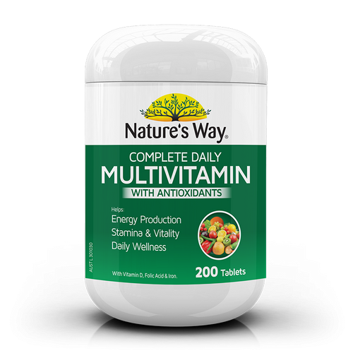Complete Daily Multivitamin with Antioxidants 200 Tablets Nature's Way