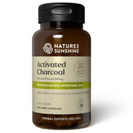 Activated Charcoal 100 Capsules Nature's Sunshine