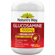 Glucosamine 1500mg 200 Tablets x 3 Pack Nature's Way