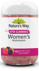 Vita Gummies Women's Multi-Vitamin 100 Pastilles x 3 Pack Nature's Way