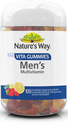 Vita Gummies Men's Multi-Vitamin 100 Pastilles x 3 Pack Nature's Way