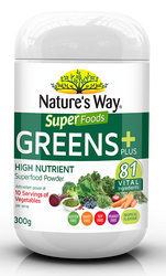 Super Greens Plus 300g x 3 Pack Nature's Way