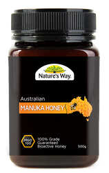 Manuka Honey 100MGO 500g x 3 Pack Nature's Way